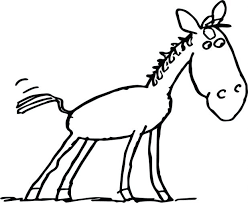 Farm Animals Colouring Pages Printable Animal Coloring For Adults Free Horse Baby Page