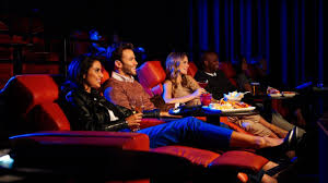 Movie Theatre With Reclining Chairs Nyc by Nyc Movie Theaters With Dining Services Ipic At Seaport Alamo