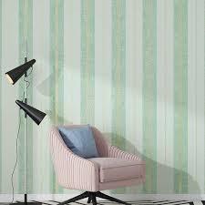 nordic stil grün grau vertikale streifen wand papierrolle für wohnzimmer tapete für schlafzimmer wände hintergrund papel de parede
