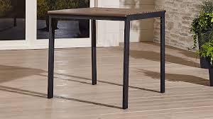 Crate And Barrel Dining Room Furniture by Rocha High Outdoor Table Crate And Barrel