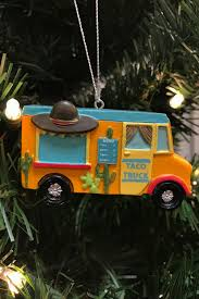 100 Taco Food Truck Resin Ornament Shop Whimsicality