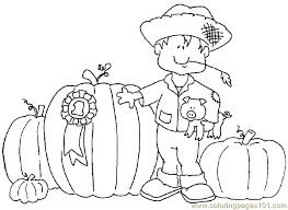 Coloring For Kids Fall Pages Printable In Free Autumn