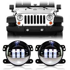 LED Fog Lamps For Wrangler JK 2007-2017 - JEEPFEDERATION 52018 F150 Morimoto Xb Led Replacement Projector Fog Lights 50373 Amazoncom Spyder Auto Flledcsil03c Chevy Silveradoavalanche High Oput White Front Bumper Grille For Vw Bora 9802 Angel Honda Access Light Kit 2017 Civic Typer Fk8 Jhpusa 02013 Toyota Tundra Rigid Industries Mounting 40155 Xkglow 4in Ultra Bright Wide Angle Fog Lightswitch Back Dual Dot 9inch Led Bar Driving Offroad Lamps Backup Dodge Ram From Hid Digitru Universal Bike Headlight Taillight With 2003 2004 Corolla Euro Clear