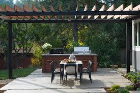 cuisine d ete couverte comment aménager une cuisine d extérieur sur la terrasse