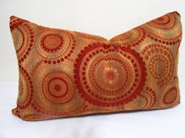 Red Decorative Lumbar Pillows by 27 Best Red And Gold Throw Pillows Images On Pinterest Gold