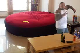 Awesome Big Bean Bag Bed 36 In Home Designing Inspiration With