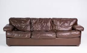 canapé poltrona frau modern sofa by tito agnoli for poltrona frau for sale at
