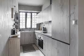 cuisine gris bois stunning meuble de cuisine gris et blanc pictures amazing house