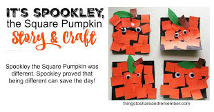 Spookley The Square Pumpkin by Spookley The Square Pumpkin Craft