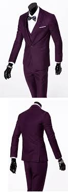 New Mens Fashion Casual Suits Sets Male Business Solid