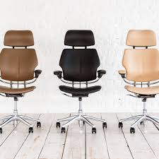 100 humanscale freedom leather task chair humanscale