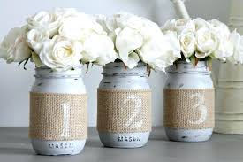 Weddings Table Decorations Wedding Numbers Rustic Decor Party Centerpieces