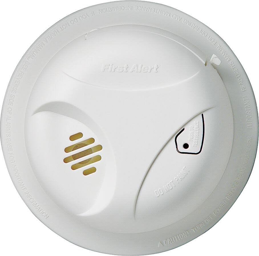 First Alert 1039791/SA300CN3 Smoke Alarm, 9 Volts