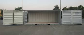 100 Cheap Container Shipping Hot Item 20FT 40FT New Open Side