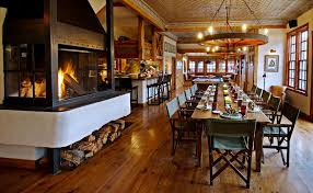 Dunton Hot Springs Dolores Colorado Bar Drink Eat Glamping Hotels Rustic Chair Dining House Restaurant