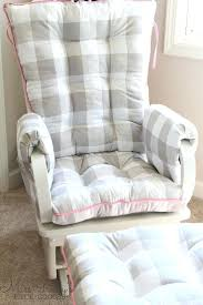 Rocking Chair Cushions Nursery Australia by Glider Rocking Chair Cushion Covers Wooden Cushions For Nursery
