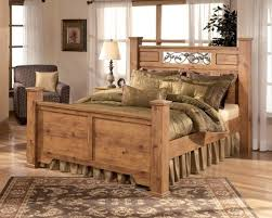 Elegant Full Size Bed Wood Headboard And Footboard 93 New