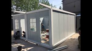 100 Affordable Container Homes 3m595m Mobile Portable Cabin Homes Affordable Housing Prefab Container House Installation Video