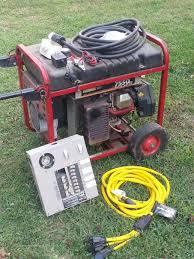 Generac Portable Generator Shed by Huntohio Net Forums The Flea Market Generac 7550 Watt Exl