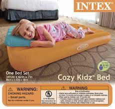 intex cozy kidz air mattress assorted colors at menards