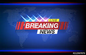 Background Screen Saver On Breaking News Live World Map Vector