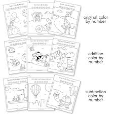 9 Fun Color By Number Worksheets That Teach Math The Easy Way Adding