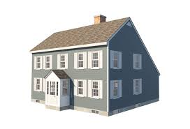 100 Picture Of Two Story House Traditional Saltbox Plans Colonial Home