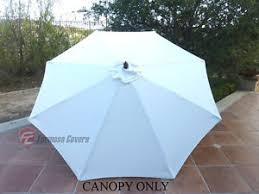 Patio Umbrella Canopy Replacement 6 Ribs 8ft by 9 Ft Umbrella Replacement Canopy Ebay