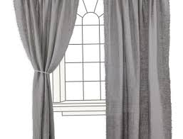 Ikea Vivan Curtains White by Grey And White Linen Curtains Decoration And Curtain Ideas