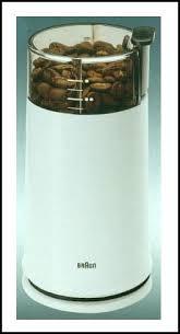 BRAUN COFFEE MILL SPICE GRINDER 220 VOLT
