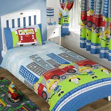 Children S Fire Engine Bedding - Bedding Designs