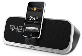 Amazon iHome iA5 App Enhanced 30 Pin iPod iPhone Alarm Clock
