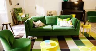 Gorgeous Velvet Kelly Green Ikea Sofa Wish I Was Brave Enough For A Couch