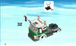 LEGO Tank Truck Instructions 3180, City