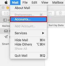 Set Up E mail Account in Apple Mail 1&1 Help Center