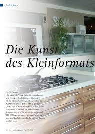 die kunst des kleinformats ihre küche und mehr