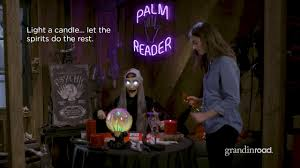 Grandin Road Halloween Haven by How To Create A Fortune Teller Scene Grandin Road Youtube