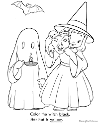 Printable Ghost Coloring Page