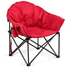 Costway: Costway Oversized Saucer Moon Folding Camping Chair Padded Seat  W/Cup Holder&Carry Bag | Rakuten.com Coreequipment Folding Camping Chair Reviews Wayfair Ihambing Ang Pinakabagong Wfgo Ultralight Foldable Camp Outwell Angela Black 2 X Blue Folding Camping Chair Lweight Portable Festival Fishing Outdoor Red White And Blue Steel Texas Flag Bag Camo Version Alps Mountaeering Oversized 91846 Quik Gray Heavy Duty Patio Armchair Outlander By Pnic Time Ozark Trail Basic Mesh With Cup Holder Zanlure 600d Oxford Ultralight Portable Outdoor Fishing Bbq Seat Revolution Sienna