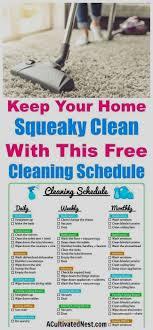 pin lozko zinaida auf cleaning putzplan sauberes