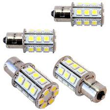 four ba15s 24 leds bulb replacement for 1141 casita rv interior