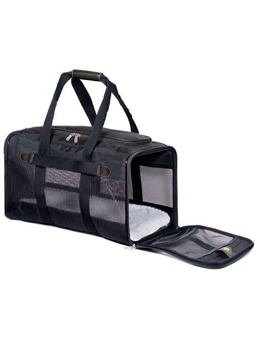 Sherpa Original Deluxe Pet Carrier - Small, Black