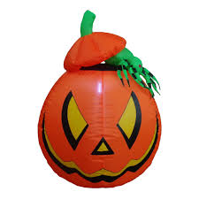 Large Blow Up Halloween Decorations by Illuminated Ghastly Stagecoach Outdoor Blow Up Halloween Lawn Decor