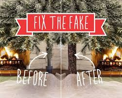 FIX UGLY POLE Beautify Your Artificial Christmas Tree This