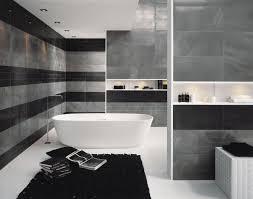 univers salle de bains carrelage gris