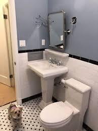 American Standard Retrospect Sink Console by American Standard Pedestal Sink Ebay