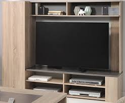 tv wand fumio 5 eiche natur nachbildung steinoptik 166x138cm tv möbel wohnzimmer wohnwand schrankwand