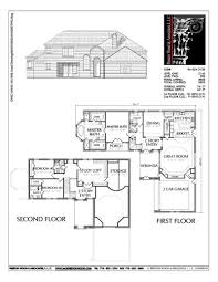 100 Picture Of Two Story House Plan C6054