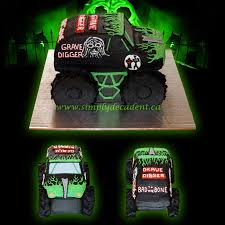 100 3d Monster Truck Games 3D Buttercream Grave Digger Birthday Cake All 100