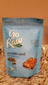Go Raw Sprouted Pumpkin Seeds Bar by Running Without Injuries Go Raw Review